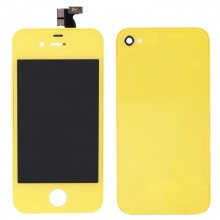 iPhone 4 LCD Kit Yellow