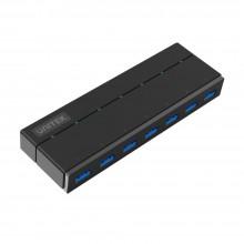 7 Port USB3 Hub + 1 2.A Charge