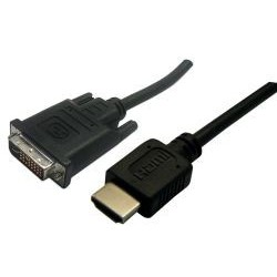 DVI-D to HDMI 2M